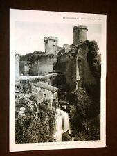 Nepi nel 1931 Rocca di Rodrogo Borgia, Mola nel fosso Fontanacupa e Porta romana