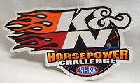 "NHRA K&N Horsepower Challenge Window Decal Sticker 3"" x 6"" Drag Racing"