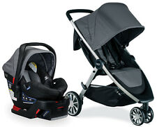Britax B-Lively Stroller & B-Safe 35 Infant Car Seat Travel System Dove NEW