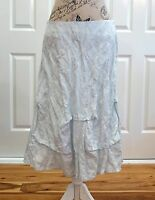 QUIN AND DONNELLY Pastel Teal Skirt Size 12