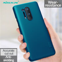 For OnePlus 8 7T 7 Pro NILLKIN Shockproof Super Frosted Shield Hard Case Cover