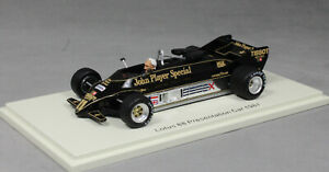 Spark Lotus 88 1981 F1 Presentation Car with Colin Chapman Figure UK002 1/43 NEW