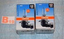 2 x ampoules OSRAM HB3 12V 60W réf.9005 neuf