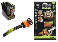 StormForce 3W Hi-Power Tactical Water Resistant Durable Headlight Dual Beam