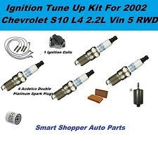 2002 Chevrolet S10 L4 2.2L RWD Ignition Coil, Spark Plug, Filter Igntion Tune Up