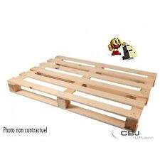 Pour lot palette bois 1200 x 800 pour stockage emballage manutention envoi
