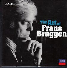 FRANS BRÜGGEN The Art Of Frans Bruggen 10-CD BOX DECCA VOLKSKRANT