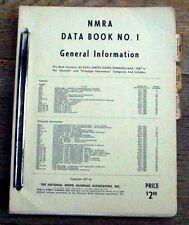 NMRA BULLETIN 3 Basic Spec/Model Bldg Standards TECH BOOK ... TRACK, SCALE, etc