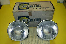 Cibie 470093 headlights Alpine, Citroen, Ferrari, Porsche, Simca. New.