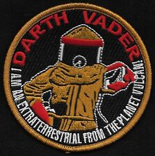 Marty McFly DARTH VADER Back to the Future Cult Classic Movie Collectors Patch