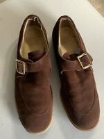 Vintage Mens Bowling Suede Shoes Size 11