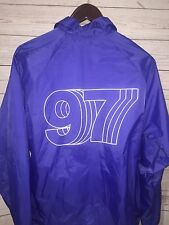 Only Ny New York City Coach Jacket Medium Blue Supreme Windbreaker M