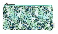 cinda b. Happy Zip Pouch, Purely Peacock