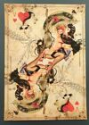 Queen of Hearts No.2 by Handiedan Signed #d/10 Giclee Print Art Poster Rare 2008