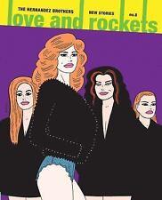 LOVE AND ROCKETS 8 - HERNANDEZ, GILBERT/ HERNANDEZ, JAIME - NEW PAPERBACK BOOK