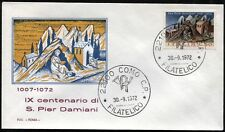 1972 - San Pier Damiani - n.1184 -  Busta  FDC