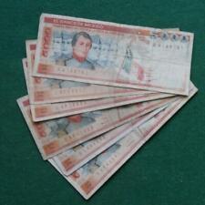 1982-85 2 types Notes  Banco de Mexico 5000  pesos red 1 SA  lot of 6 Fine