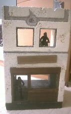 "Custom made Ruined building for 3.75"", 1:18scale figures diorama"