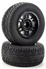 Apex RC Products 1/10 Short Course Wheels + On-Road Street Tires - Slash #6216