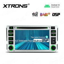 "6.2"" DSP Android 10.0 Car DVD Stereo Radio GPS Head Unit For Hyundai Santa Fe"