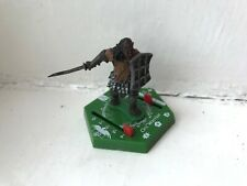LORD OF THE RINGS COMBAT HEX MINIATURES - ORC WARRIOR GAME PIECE FIGURE