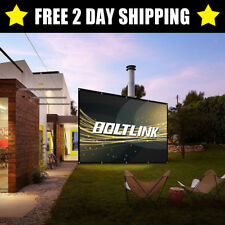 """GIANT 150"""" 16:9 HDTV Outdoor Portable Movie Projector Screen Home Theater Cinema"""