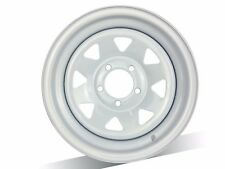 "1 X 14x6 "" WHITE SUNRAYSIA Steel Wheel HT Stud Pattern  FREE DELIVERY*"
