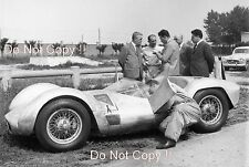 Stirling Moss Maserati Tipo 61 Birdcage Modena 1960 Photograph