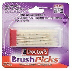 Special pack of 6 DOCTOR'S BRUSHPICK 60 per pack X 6