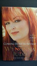 Wynonna Judd Book Coming Home to Myself FIRST EDITION FIRST PRINTING HC DJ