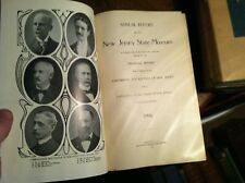 #C-54 OLD BOOK  REPORT NEW JERSEY STATE MUSEUM 1906 AMPHIBANS REPTILES