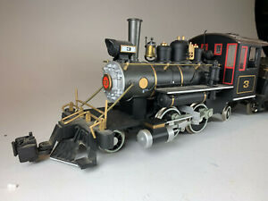 G Scale Bachmann Big Hauler PRR 2-4-2 Steam Locomotive with sound