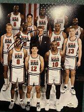 Chicago Bulls Michael Jordan TEAM USA OLYMPIC TEAM Signed 8x10 Photo W/COA