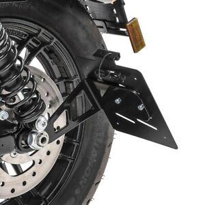 Support de plaque latéral M pour Harley Davidson Sportster 04-20 noir
