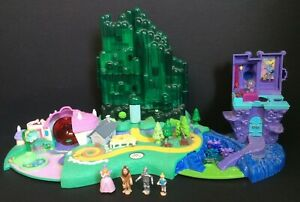 Vintage Polly Pocket Wizard of Oz Emerald City Playset and Figures