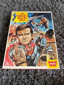 Vintage Six Million Dollar Man  300 piece Jigsaw Puzzle Whitman 1976 - Complete