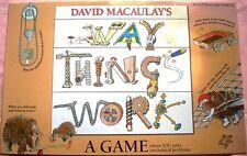 THE WAY THINGS WORK Board Game, 2004, International Playthings, NEAR MINT PLUS!