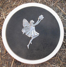 Gostatue fairy stepping stone concrete mold plaster mould