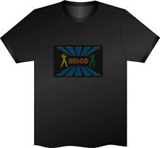 Sonido activado Discoteca Luz Intermitente Led Camiseta Xl Club Night Disco Fiesta Gallina ¿
