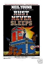Classic Rock: Neil Young & Crazy Horse *Rust Never Sleeps * Poster Circa 1979