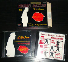 London Twilight Orchestra plays MICHAEL JACKSON 2xCD Box Bad Dangerous Thriller
