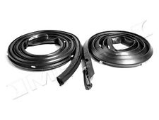 1971-1974 Dodge Charger, Super Bee, R/T 2 dr hardtop door weatherstrip seals, pr