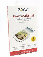 New ZAGG Invisible Shield Original Clear Screen Protector For Samsung Galaxy S6