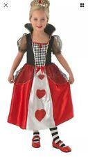 Girls Queen Of Hearts Fancy Dress Age 5-6
