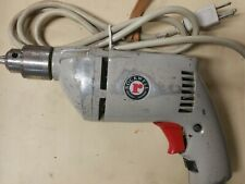 Vintage Rockwell Model 683 Type 1  3/8  chuck Corded Drill