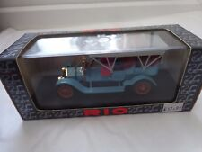 RIO 1/43 - REF 23 - FIAT 60 CV TORPEDO 1905 CLOSED TOP DIECAST MODEL CAR IN BOX