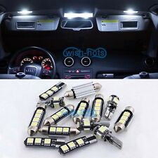 Canbus 13X White Interior LED Light Package Kit For VW MK4 VW Golf GTI Jetta