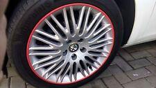 ALFA ROMEO Giulietta Giulia Mito FELGENSCHUTZ & Styling Felgenringe QV TBI GTS
