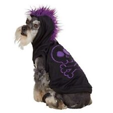 Skeleton LED Light Up Halloween Dog Pet Hoodie Costume X-Small (New with Tags)