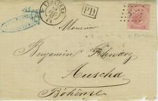 Belgium, 1867;  152 Years Old Folded Cover  Scott #21